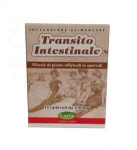 Transito Intestinale 15 opercoli da 310 mg Larix