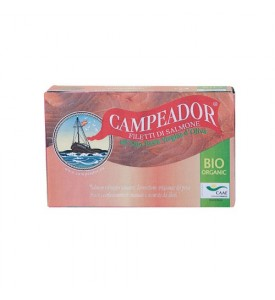 Filetti di salmone all'olio EVO Bio Campeador
