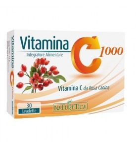 Vitamina C1000 30 tav Naturetica