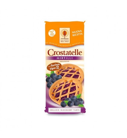 Crostatelle ai mirtilli Bio La Città del Sole