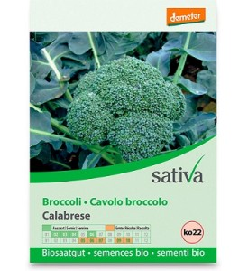 Semi di Broccolo calabrese Bio Sativa