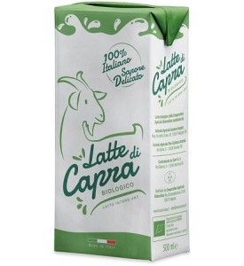 Latte di capra intero UHT Bio 500ml