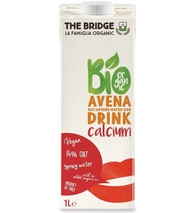 Avena Drink con calcio Bio The Bridge
