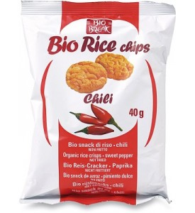 Bio rice chips al chili Bio break